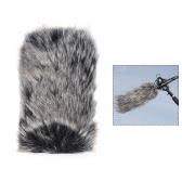 Micrófono al aire libre pequeño del micrófono Mic Furry Parabrisas Muñeca de la cubierta del parabrisas para SHENGGU SG-107 / SG109 u otros 6 * 5cm / 2.4 * 2in (L * D) Micrófonos compactos