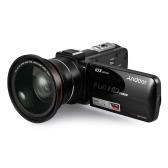 Андроид HDV-Z82 1080P Full HD Цифровая видеокамера Видеокамера