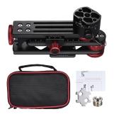 Andoer PH-720B 720 ° Panoramakopf Aluminiumlegierung mit Arca-Swiss Standard Kugelkopf Schnellwechselplatte Tragetasche max. Laden Sie 10kg für Nikon Canon Sony DSLR Kamera