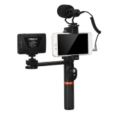 ViewFlex VF-H6 Smartphone Video Rig Hand Grip Handle Stabilizer Kit