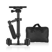 Andoer Professional Handkamera-Gimbal-Stabilisator mit Schnellwechselplatte 1/4 Zoll Schraube für DSLR-DV-Videokameras Camcorder GoPro max. Ladekapazität 1,5 kg