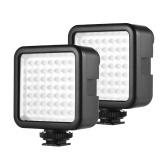 Andoer W49 Mini Interlock Kamera LED Panel Licht
