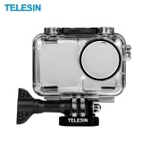 TELESIN 40m / 131ft Funda impermeable para cámara deportiva