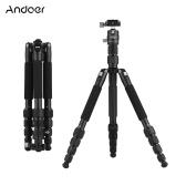 Andoer Portable 58 Inch Travel Camera Tripod