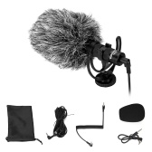 YONGNUO Cardioid Directional Video Microphone with Shock Mount 3.5mm TRS TRRS Cable