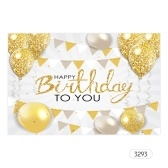 7*5ft Happy Birthday Photo Backdrop Adult Birthday Theme Photography Background