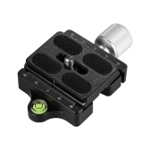 Andoer DC-50P Professional Universal Aluminum Alloy Camera Quick Release Clamp Knob-Type Axial