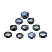 APEXEL 10 in 1 Phone Camera Lens Kit