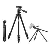 Trépied vidéo professionnel Andoer Q160HA pour appareil photo à montage horizontal