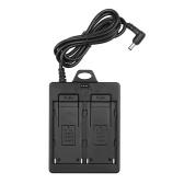Batterieplatte Netzteilhalterung Schnallenplatte Doppelschlitz