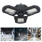 AC85-265V E27 / E26 6000lm Deformable Lamp LED Parking Light Foldable Bulb Interface for Indoor Lighting