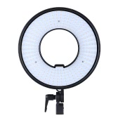 300PCS Ring-LED-Panel leuchtet Lampe CRI 95 + Dual Color Temperatur 3000 K - 7000K einstellbar Studio Video Aussenkamera Fotografie Lighting Kit