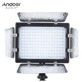 Andoer W160 photographie vidéo Light lampe panneau 6000K 160 LEDs pour Canon Nikon Pentax Sony (Alpha) Olympus reflex numérique Fujifilm caméra caméscope DV