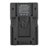Placa adaptadora F2-BP V montaje de batería para Sony NP-F970 F750 F550 batería Conversión a V Tipo de batería para Canon 5D2 5D3 réflex digitales Videocámara