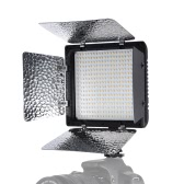 Andoer W368-Ⅱ Dual Color Temperature LED Video Light 3200K-6000K Adjustable Brightness Photography Light 368 LED Continuous Light Panel with Camera Mount and Filters