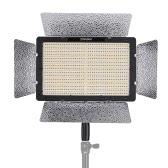 YONGNUO YN1200 Pro LED-Videoleuchte 5500K Fotografie und Videoaufzeichnung Fill Light w / 2Pcs CT Filter & Fernbedienung Einstellbare Helligkeit CRI≥95 Unterstützung APP Fernbedienung Studio-Beleuchtung