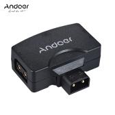 Andoer D-Tap do 5V Adapter złącze USB do V-Mount kamery aparatów dla BMCC dla iPhone 7/6 / 6plus Samsung Huawei iOS Android Smartphone monitora