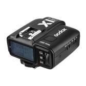 Godox X1T-F 2.4G Wireless TTL Trigger 1 / 8000s HSS 32-kanałowy przetwornik wyzwalania błyskiem z wyświetlaczem LCD dla Fuji X-Pro2 X-T20 X-T2 X-T1 X-Pro1 X-T10 X-X2 X-A3 X100F Seria X100T Kamery