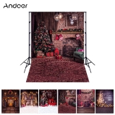 Andoer 1.5*2 meters / 5*7 feet Christmas Holiday Theme Background Photography Backdrop