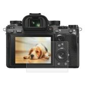 PULUZカメラスクリーン保護フィルムポリカーボネート保護フィルムキズ防止ソニーILCE  -  9(A9)のためのキヤノンソニーニコンパナソニックFinePixオリンパスデジタルカメラアクセサリーのための耐擦傷性硬質ガラススクリーンプロテクター