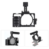 Andoer Protective Aluminum Alloy Video Camera Cage Stabilizer Protector with Cable Clamp for Sony A6000 A6300 A6500 NEX7 ILDC to Mount Microphone Monitor Tripod Lighting Accessories