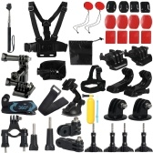 17 In 1 Basic Sports Action Camera Accessory Kit Set