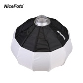 NiceFoto 50cm/20inch Foldable Lantern Style Softbox Ball Shape Soft Box