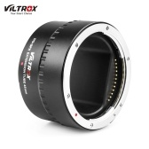 Viltrox DG-GFX 45mm Automatic Electronic Macro Extension Tube Adapter Ring Metal Electrical Contacts Support TTL Auto Focus AF AE Mode for Fuji G-mount Medium Format Lenses for Fuji G-mount GFX Medium Format Cameras