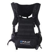 PULUZ Multifunktions-Doppelschulterkameragurt Foto-Zubehör für SLR- / DSLR-Kameras
