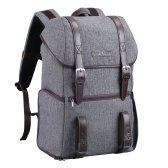 K&F CONCEPT Large Capcity Camera Backpack Photography Storager Bag for SLR DSLR Camera Laptop Grey