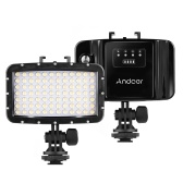 Andoer W84 Rechargeable Sports Camera Diving Light 50m étanche DSLR Camera LED Video Light Fill-in Lamp