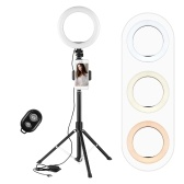 Andoer 8 pollici / 20 cm LED Selfie Ring Light Kit