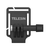 TELESIN Action Camera Cap Clip Baseball Hat Clamp Mount Holder