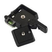Plaque de dégagement rapide pour appareils photo reflex numériques, trépied et monopode