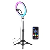 10 Inch LED Ring Light Photography Lamp Set