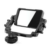 Ulanzi PT-14 Kamera-Spiegelspiegelhalterung Selfie Vlog 360-Grad-Drehhalterung