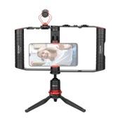 BOYA BY-VG380 Многофункциональный комплект видеооборудования для смартфонов