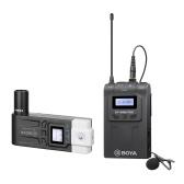 Système de microphone sans fil à double canal UHF BOYA BY-WM8 Pro-K7