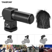 Takstar SGC-698 Pro Photography Interview On-camera Microphone Recording Mic for Nikon Canon Sony DSLR Camera DV Camcorder