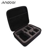 Andoer Portable wstrząsoodporny ochronna Action Camera Case Bag Storage dla GoPro Hero4 sesję i powiązane akcesoria