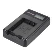 Cargador portátil de LED de alimentación con 2pcs 1450mAh recargable de ion de litio NP-BX1 baterías para Videocámara de Sony Series DSC Cybershot Digital Cámara