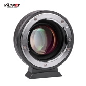 Viltrox NF-M43X 0.71X Lens Mount Adaptateur Anneau Focal Réducteur Speed Booster 8 Ouverture Manuel Focus pour Nikon GD Objectif à utiliser pour Micro Four Thirds M4 / 3 Caméra