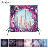 Andoer 1,5 * 1,5 Meter / 5 * 5 Fuß Fotografie Hintergrund