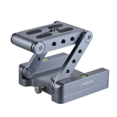 Z Flex Tilt Tripod Head Aluminum Alloy Folding Z Tilt Head