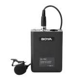BOYA BY-F8C Micrófono de condensador cardioide Lavalier