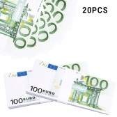 Realistyczne Fałszywe gry Pieniądze Zdjęcie Funty Euro Notes Szkolenie Zdobywaj Nauka Banknot Dwustronne drukowanie Atmosfera Rekwizyty