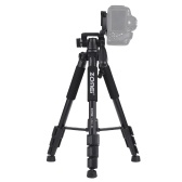 "ZOMEI Q111 142cm/56"" Lightweight Portable Aluminum Alloy Camera Travel Tripod"