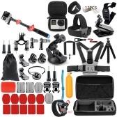 Multifunktionale Kamera Zubehör Cam Werkzeuge für Outdoor-Fotografie Kameras Schutz Werkzeug für Gopro Hero 6 5 4 3 Kit 3-Wege-Selfie-Stick für Eken H8R / für Xiaomi für Yi EVA Fall VS77