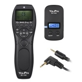 YouPro MC-292 E3 2.4G Wireless Remote Control LCD Timer Shutter Release Transmitter Receiver 32 Channels for Canon 80D 760D 750D 700D 70D 650D 600D 60D 550D 500D 450D 400D 350D 300D 1300D 1200D 1100D 1000D 100D SX50 G10 G11 G12 G1X for Pentax K-5 K-5II K-7 K30 K30D K10D K100D K11D K200D Samsung GX-1L GX-1S GX-10 GX-20 NX100 NX11 NX10 NX5 Contax 645 N1 NX N Camera
