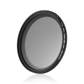 ZOMEI 58mm Ultra Slim Variable Fader ND2-400 Neutral Density ND Filter Adjustable ND2 ND4 ND8 ND16 ND32 to ND400 for Canon Rebel T5i T4i T3i T2i T1i T3 XSi XS Canon EOS 500D 400D 550D 650D 450D 350D 100D 700D 600D 1100D DSLR Camera with 18-55mm 70-300mm 75-300mm 55-250mm 28-105mm 70-210mm 100-300mm Lens 62mm for Sigma Tamron Sony Alpha A57 A77 A65 DSLR Cameras
